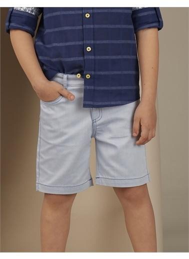 Ollie & olla Denim Look Erkek Çocuk Şort Mavi